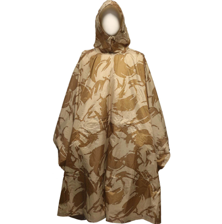 High Quality Camouflage raincoat