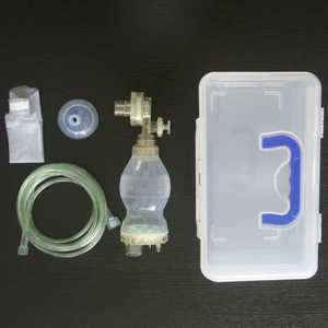 Manual silicon resuscitator (Infant type)
