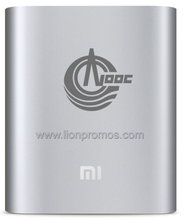 Petro Oil Company Logo Laser Engraved Business Gift Original Mi Brand 10400MAH Mobile Power Bank