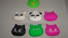 Custom Logo Promotional Gift Lady Silicone Coin Purse