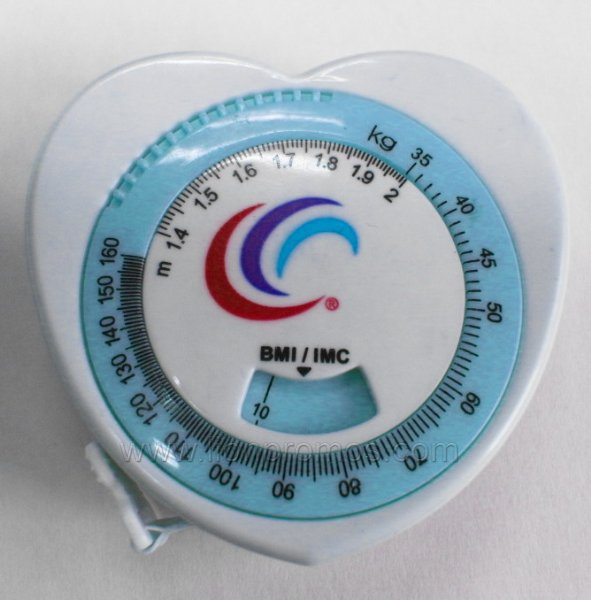 Custom Logo Medical Gift BMI Tape Measure