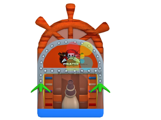 Inflatable Pirate Bouncy Combo Pirate Inflatable Combo with Slide Both Door And Indoor