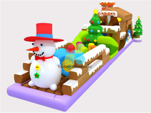 RB05006(14x4m)Inflatable Snow obstacle Christmas house