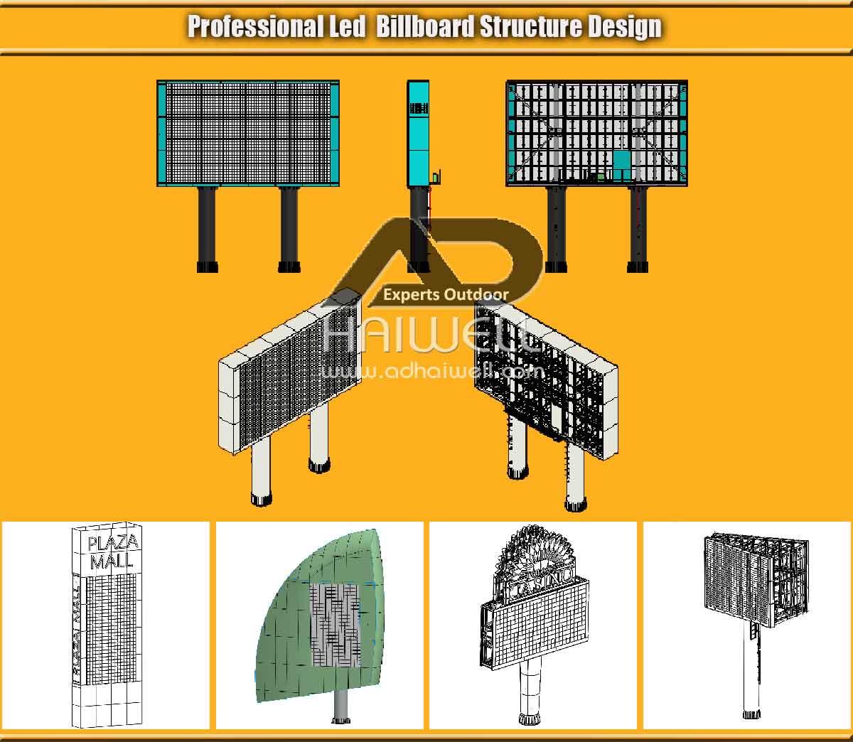 Professional-LED-Billboard-Structure-Design