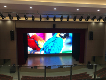 P1.56 Pantalla LED super clara para sala de reuniones Mall Center