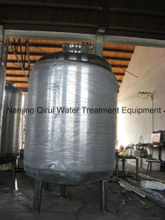 Stainless Steel Double Jacketed Heat Keeping WFI Storage Tank