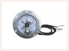 PG-012 Magnetic electric contact Pressure Gauges back connection with flange