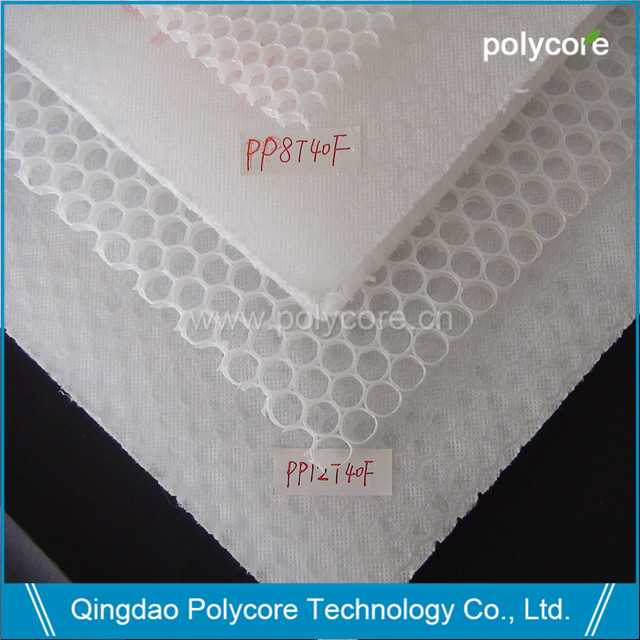 Polycore PP honeycomb core and sheet