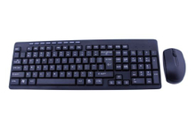 2.4G Wirelss Multimedia Keyboard Mouse Combo Style No. Kmx-108A