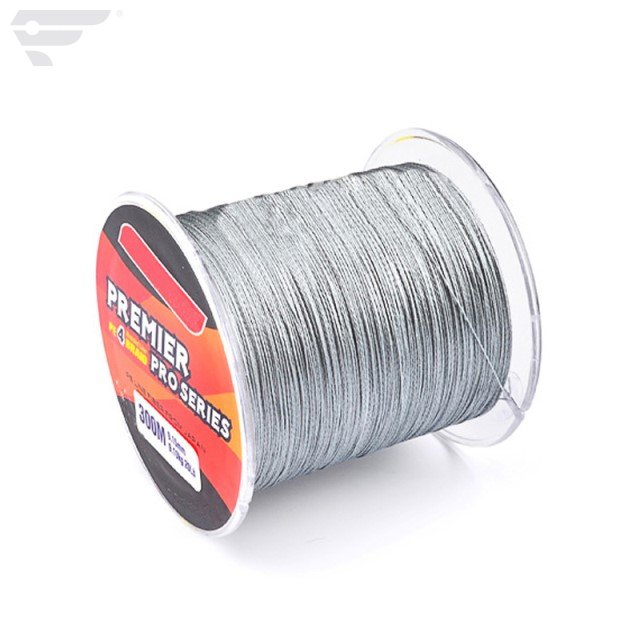 300m PE Braided Fishing Line 4 Strands 328 yards pure color