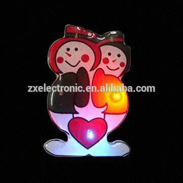 2015 Promotional Led Flashing Toy Rose,Led Light For Christmas Festive Gift