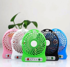 usb rechargeable mini handheld fan for promotion