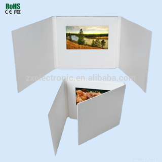 Different Size Digital LCD Screen Video Brochure Card