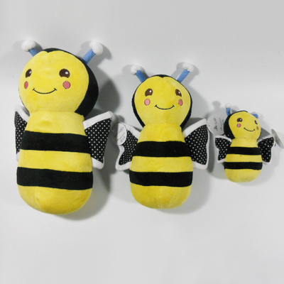 New Plush Bee Sound Chew Squeaker Dog Toy