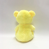 Romantic Yellow Soft Plush Teddy Bear Gift with Heart