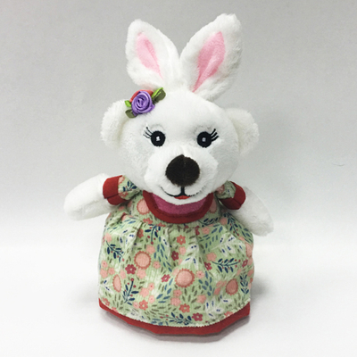 Customized Plush Rabbit Teddy Bear Toys with Sweety Dress