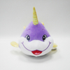 Purple Unicorn Dolphin Toys Funny Sea Animal Plush Toys