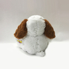 Love Valentines Gift Stuffed Plush Dog with Love Heart