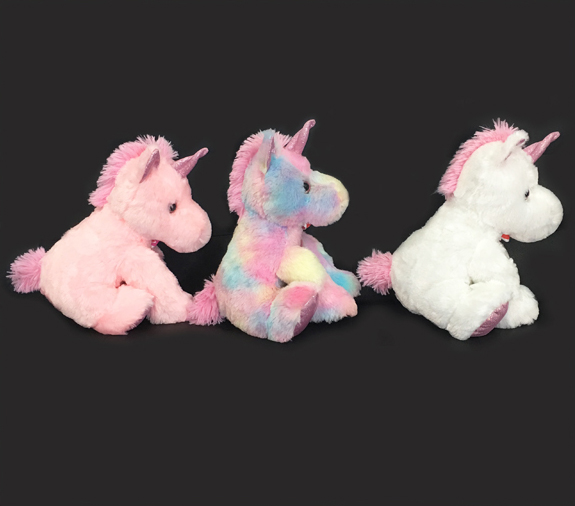 Top Safety Hot Soft Colorful Unicorn Plush Toys for Kids