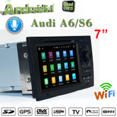car dvd player carplay audi a6 s6 android 7.1 car stereo flash 2+16G