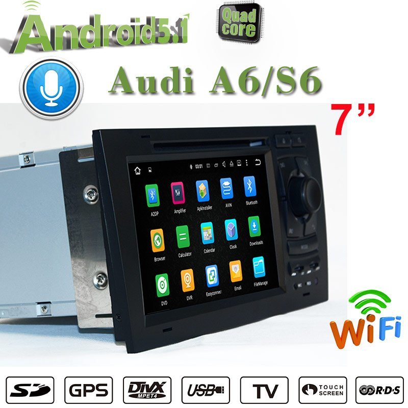 car dvd player carplay audi a6 s6 android 7 1 car stereo
