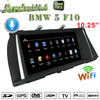 "Bmw 5 Series (F10 F11 F07 F18) CIC 10.25"" Android Touchscreen GPS Navigation Multimedia USB WIFI"