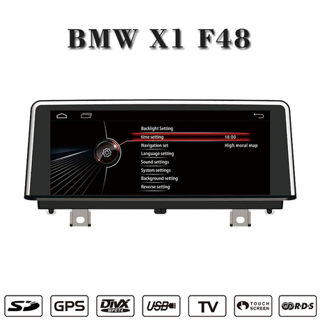 "10.25""android 7.1 car stereo for BMW X1 F48 gps navigatior wifi connection,3g internet"