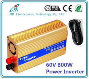 High quality 60Vdc to 220Vac Automotive Power Modified Sine Wave Inverter 800w renewable power source