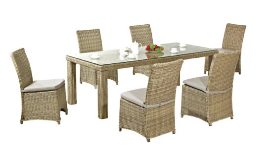 Garden/Patio Wicker Dining Sets for Outdoor Furniture (LN-1003)