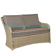 Wicker Furniture Poly Rattan Love Seat Garden Sofa