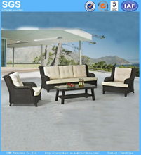Rattan Furniture 4 PCS Sofa Set