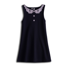 Doll Collar Vest dress