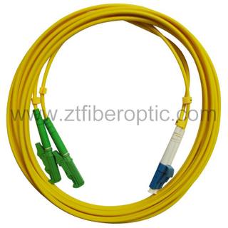 Singlemode E2000-LC Fiber Optic Patch Cable
