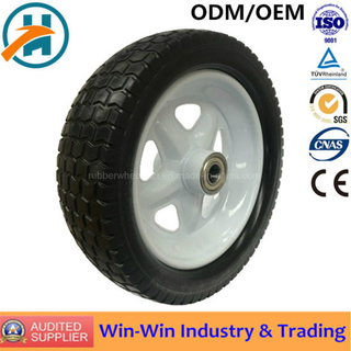 PU Foam Pump Wheel Tires for Heavy Duty Trolley (13*5.00-6/500-6)