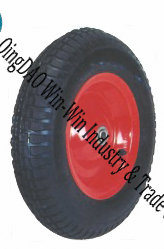 "Pneumatic Rubber Wheel for Wheelbarrow Wheel (16""X480/4.00-8)"
