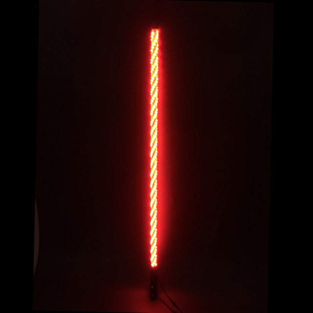 4ft Multi color LED lighted whips with remote