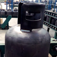 LPG Gas Cylinder Manufacturing Equipments Automatic Handle/Guard Welding Machine