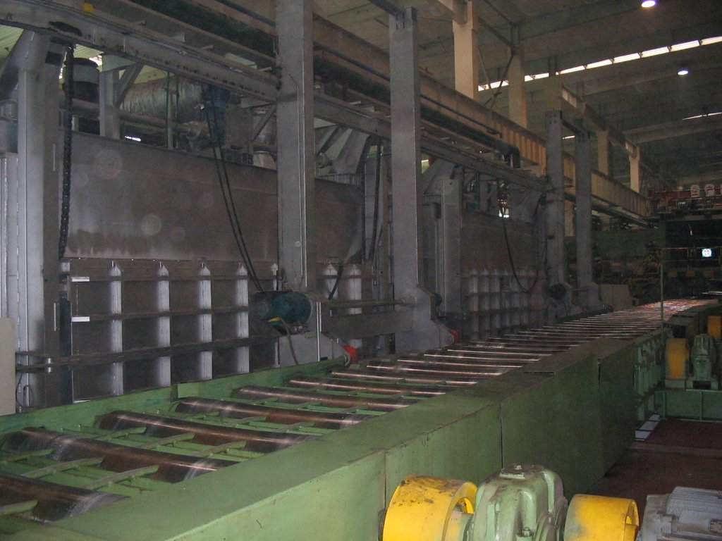 continuous Al. Bar Heating Furnace