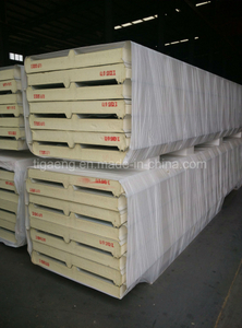 PU Polyurethane Insulated Sandwich Wall Panel/Roof Panel with Factory Price