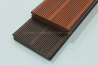 Long Lasting Color WPC Decking Wood Polymer Composite Flooring
