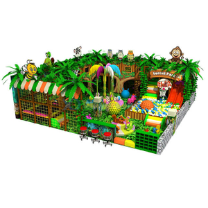 Jungle Theme Amusement Indoor Soft Play Park для детей