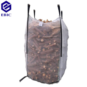 Ventilated vegetable / wood big bag