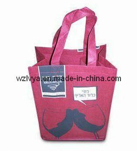 Non-Woven Wine Bag, Suitable for Six Bottles (LYW07)
