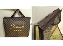 Clothes Bags with Zipper Brown Color (LYZ03)