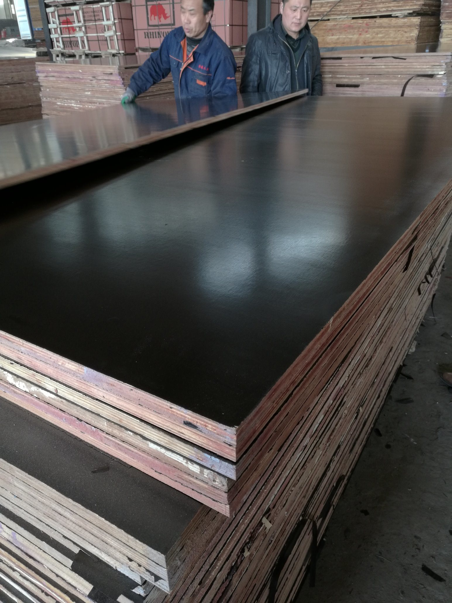 Dynea Glue Formwork Plywood with Poplar/Hardwood/Birch Core