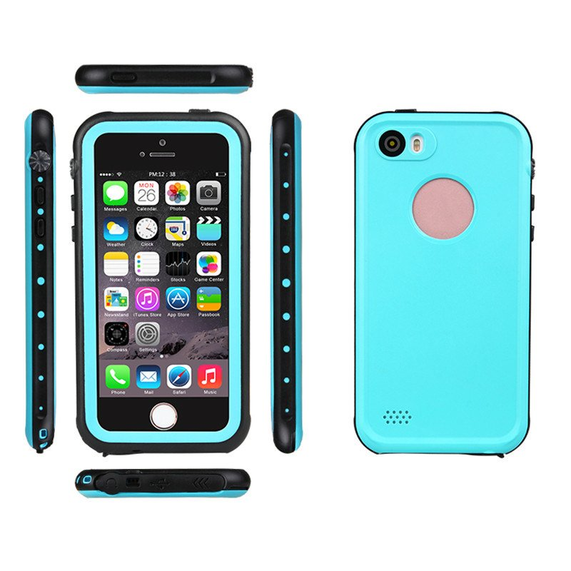 Waterproof Mobile Phone Cover Water Resistant Cell Phone Case for iPhone 5 5s Case (RPDOT5G)