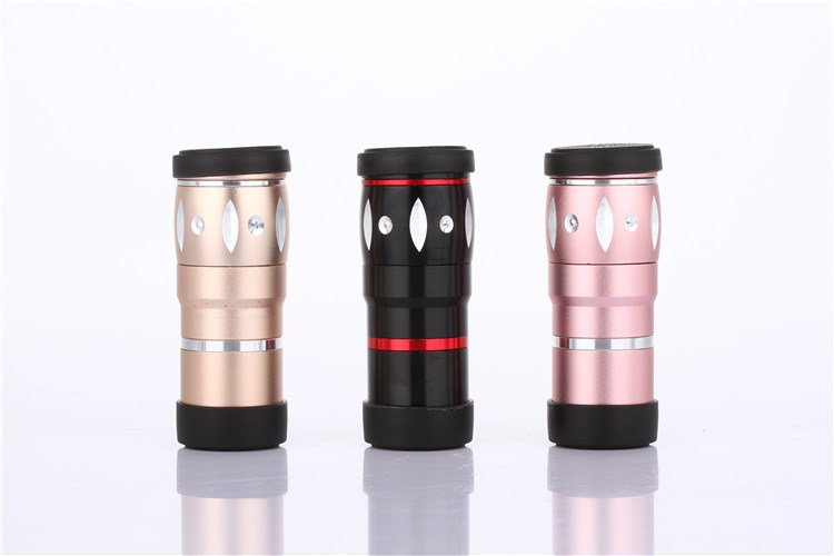 4 in 1 Lens 10X Zoom Telephoto+0.36X Wide Angle+15X Macro+180 Degree Fish Eye