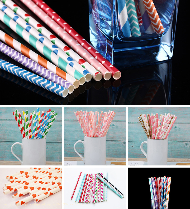 Paper Straw Machine