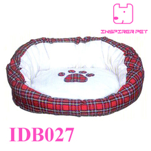 Pet Bed Dog Paw Print Bed