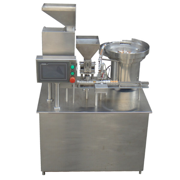 silica gel desiccant canister filling machine
